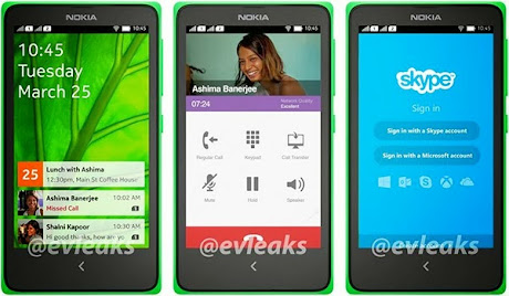 Nokia Normandy Evleaks