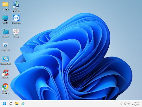 Bộ cài Windows 11 Enterprise (Beta), Version 21H2, OS Build 22000.168 (64-bit)