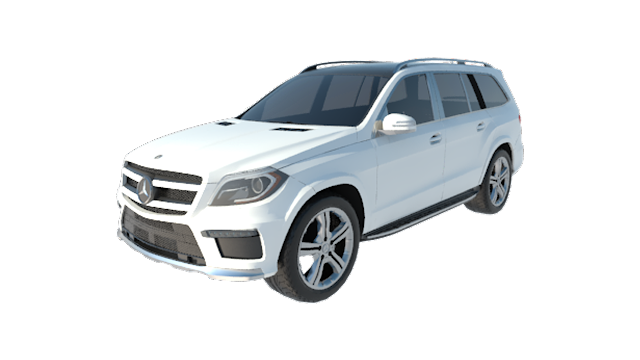 CAR #11 Benz GL550