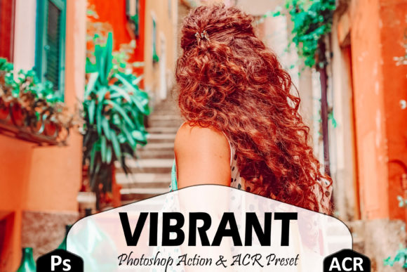 10 Vibrant [Photoshop][Actions][ACR Preset][5917016]