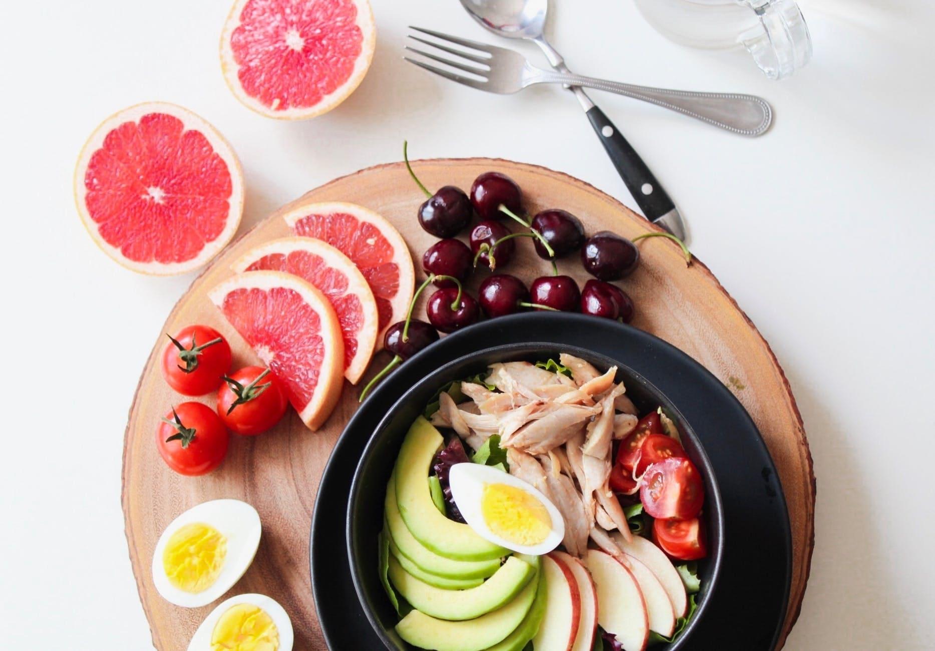 Vegetable salad with orange preparation method