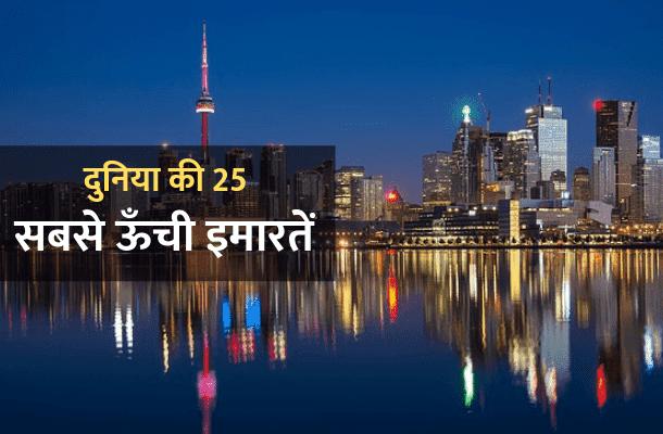 दुनिया की सबसे ऊँची इमारतें- sbse-bdi-imarat
