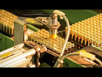 Incredible Production Process of Bullets and Powerful Weapon USA. Wonderful Production Technology