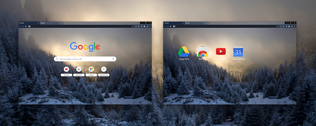 Hoarfrost Google Theme  | Chrome Web Store