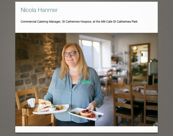 Lancashire Food Nicola Hanmer - Commercial Catering Manager for The