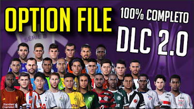 eFootball PES 2020 PS4 Option File by PES Vicio BR