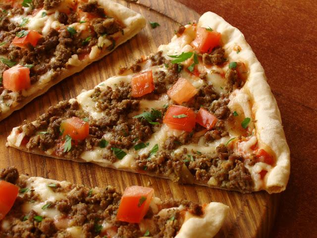 كيفية عمل بيتزا لمتابعى الرجيم