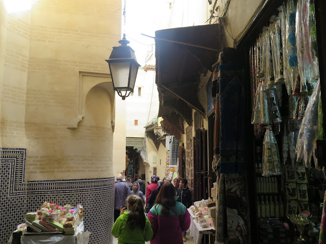 Calle junto a la Zaouia de Moulay Idriss II