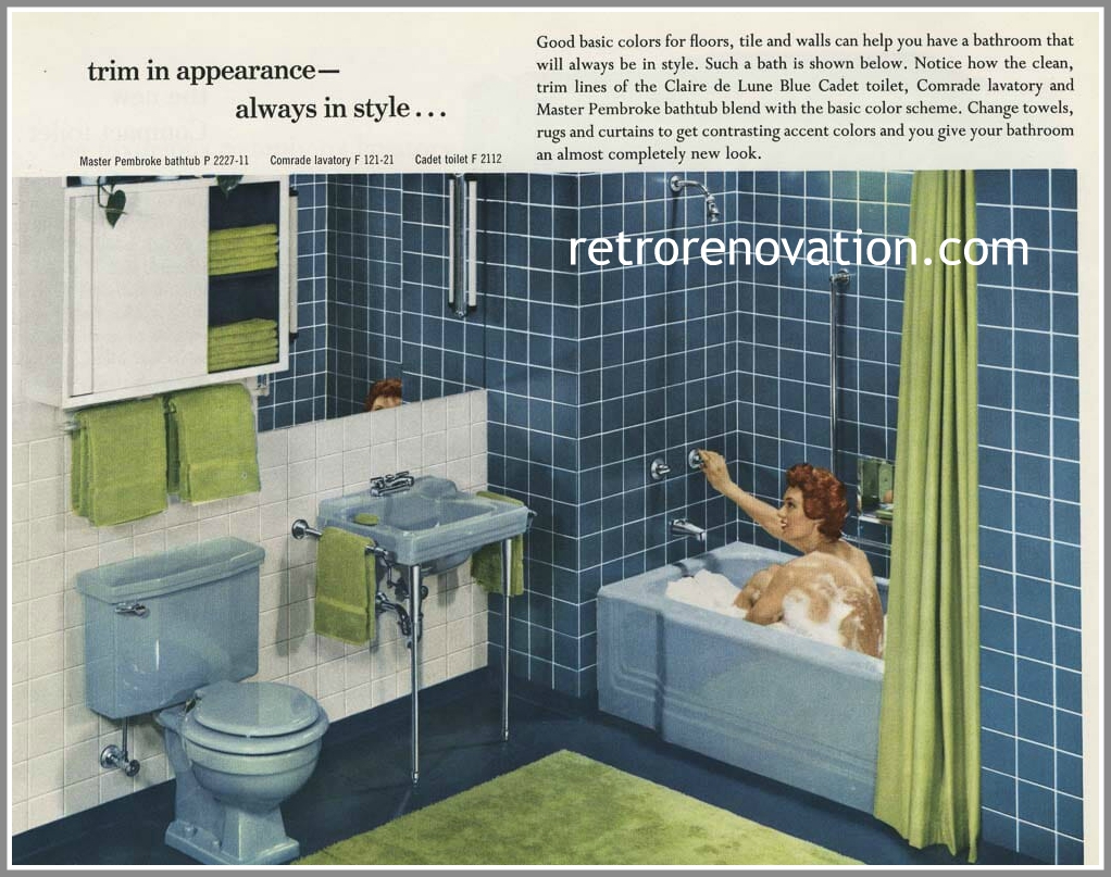 EverythingCroton: 12 VINTAGE BATHROOM SINKS FROM AMERICAN STANDARD 1955