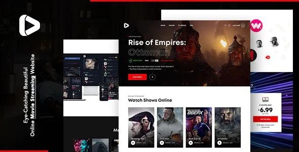 Best Online Movie Streaming Joomla Template