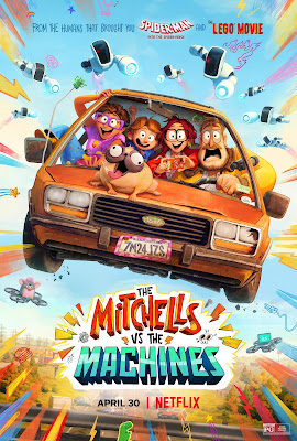 The Mitchells vs the Machines (2021) Dual Audio [Hindi 5.1ch – Eng 5.1ch] 720p | 480p HDRip ESub x264 1Gb | 350Mb