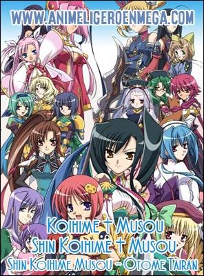 Koihime Musou Todas Las Temporadas 36/36 + Ova 03/03 MP4 HD Ligero [720p] [Sub Español] [MF-MG-GD] BD