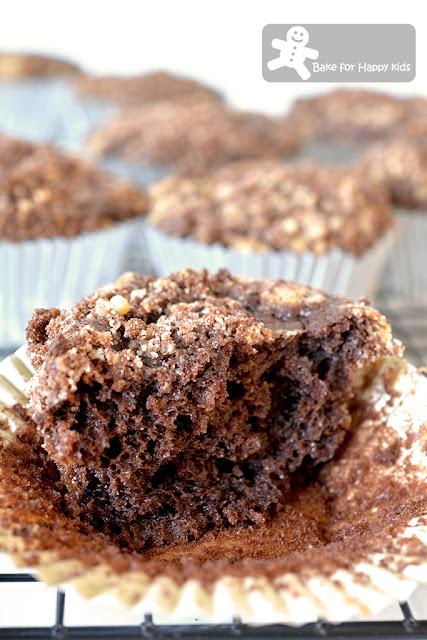 Milo muffin crispy crumble