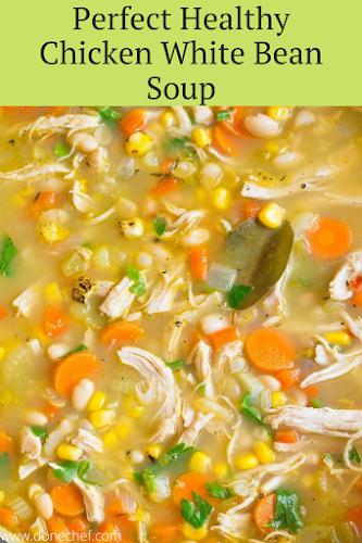 Healthy Chicken White Bean Soup