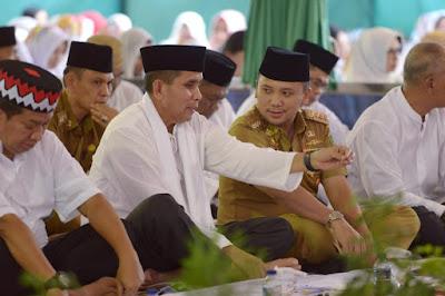 Pangdam II/Sriwijaya Puji Kepemimpinan Gubernur Lampung M.Ridho Ficardo