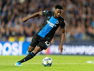 Nigeria, and Club Brugge Forward Emmanuel Dennis Set To Sign For AC Milan