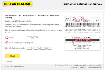 dg customer first survey