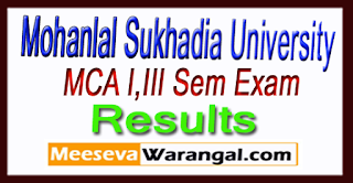 MLSU Results 2017 MCA I,III Sem Exam Results