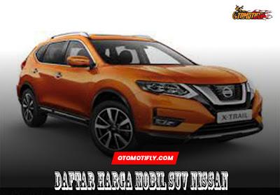 Daftar Harga Mobil SUV Nissan Terra