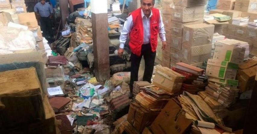 INCREÍBLE: Contraloría descubre toneladas de material educativo deteriorado en la UGEL Lambayeque | VIDEO