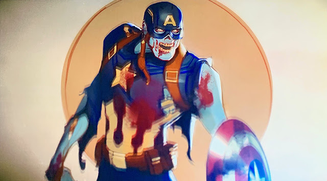 "Zombie Captain America ""What If…?"""