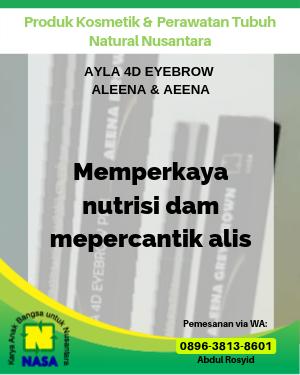 AYLA 4D Eyebrow Pensil Alis Modern