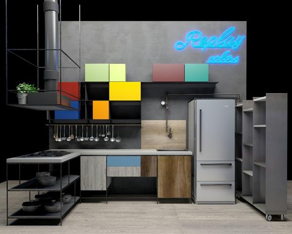 Consigli per la casa e l arredamento Cucine colorate