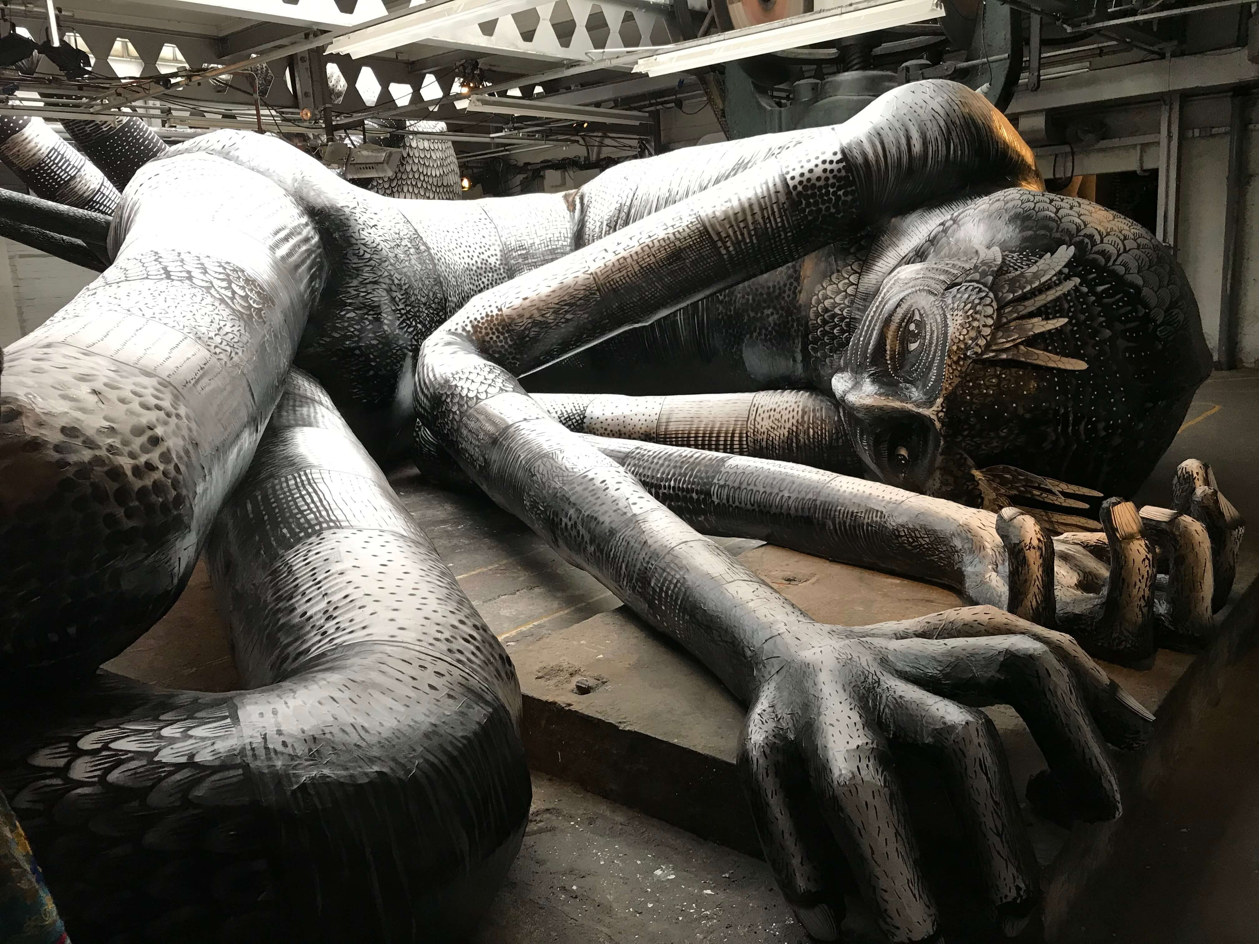 Things to do in Sheffield - Mausoleum of Giants - Phlegm