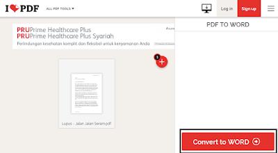 Cara Mengubah Dokumen PDF Ke Word Paling Mudah