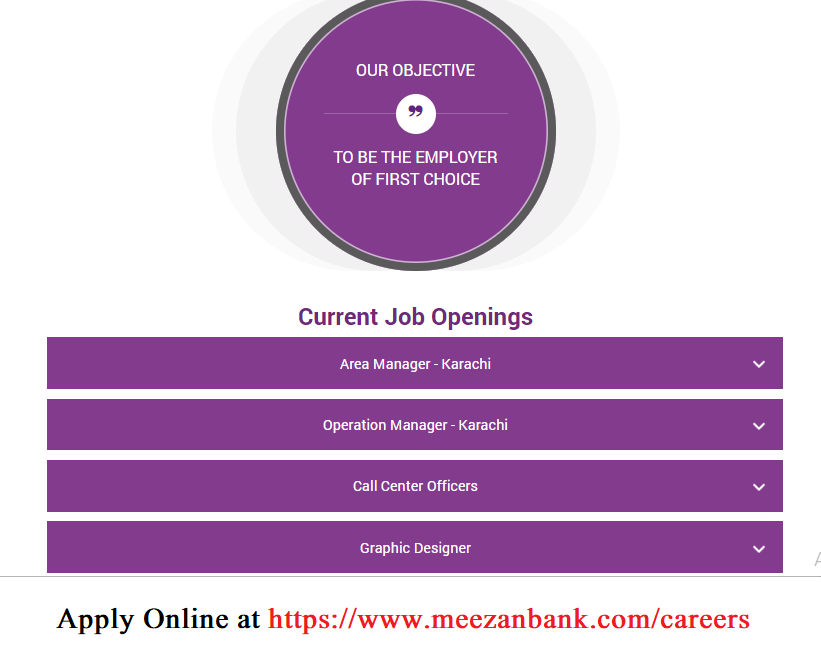 Meezan Bank jobs, Meezan Bank Careers | Jobs Opportunities 2019 Call Center Officers