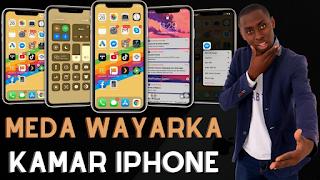 Yanda zaka maida wayarka kamar iphone 12 pro max...