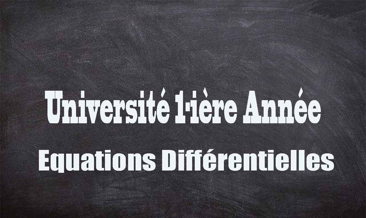 equations-differentielles