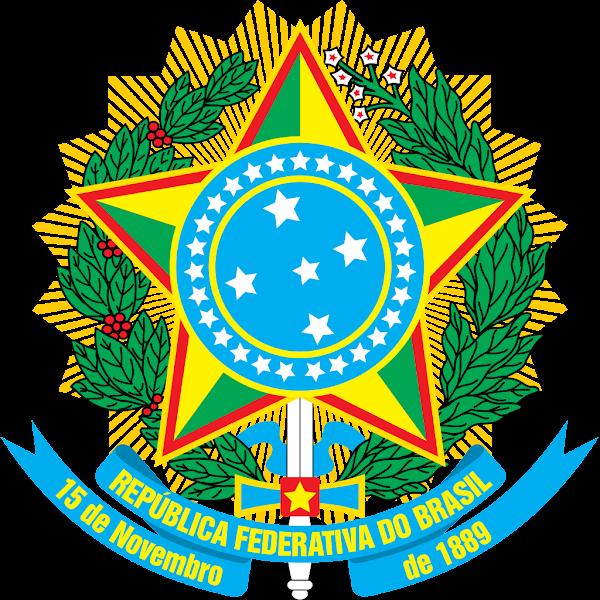 Logo Gambar Lambang Simbol Negara Brasil PNG JPG ukuran 600 px