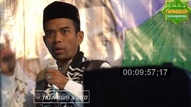 Ustad Abdul Somad: Persatuan Nomor 1, Jamaah: 'Presiden No 2'