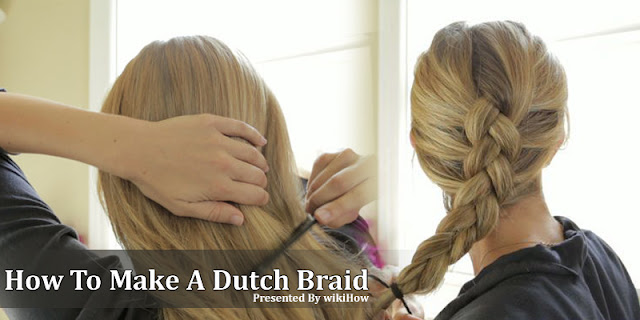 How To Make A Dutch Braid Within 2 Minutes
