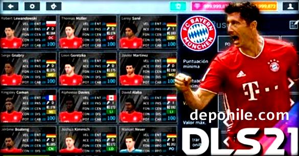 DLS 21 Bayern München Yaması İndir Forma ve Güncel Kadro