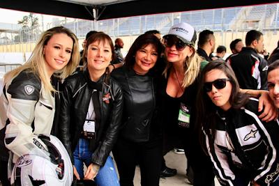 Ducati e as mulheres motociclistas em Interlagos