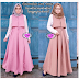 10 Gaya Baju Gamis Untuk Remaja Lebaran Idul Fitri