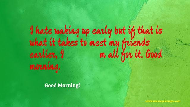 new good morning