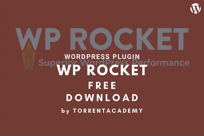 Best Premium WP Rocket Cache WordPress Plugin Free Download