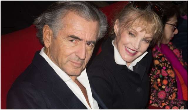 Famous celebrities who lived in Marrakech city- BHL Bernard-Henri Levy and Arielle Dombasle
