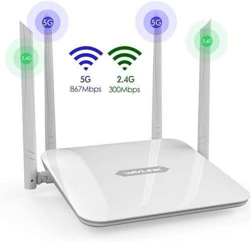 Review WAVLINK 530HG4 Gigabit WiFi Router