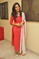 Anusuya in Red at Kalamandir Foundation 7th anniversary Celebrations ~  Actress Galleries 044.JPG