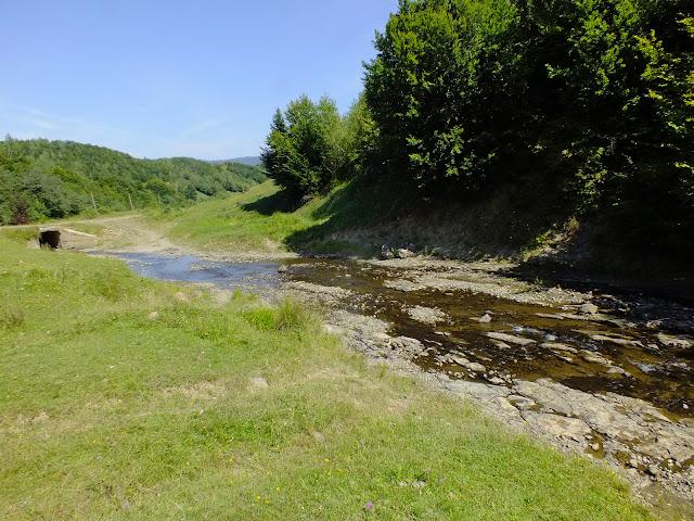 Река рядом с нашей стоянкой