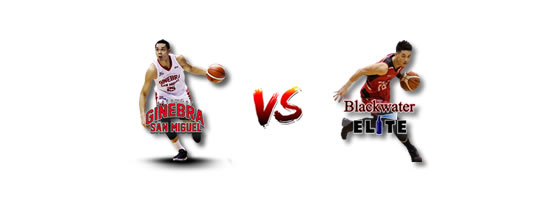 May 11: Ginebra vs Blackwater, 7:00pm Binan Laguna