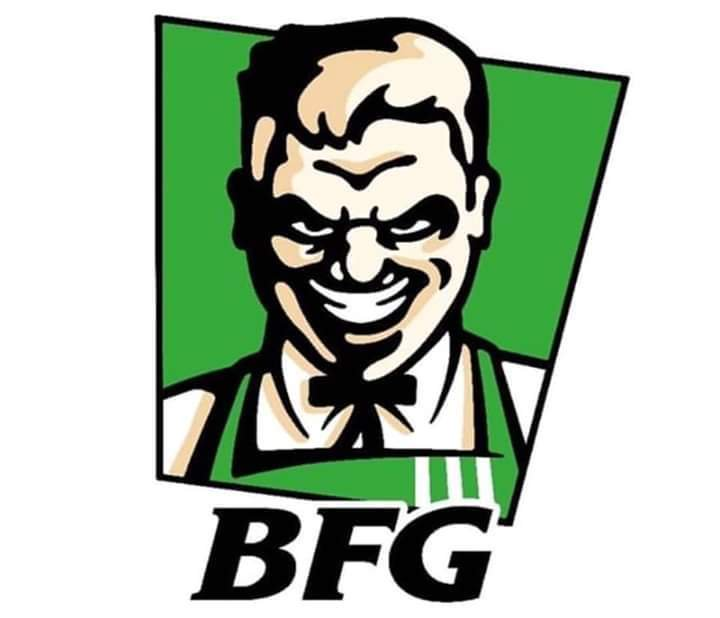 É KFC ou BFG?