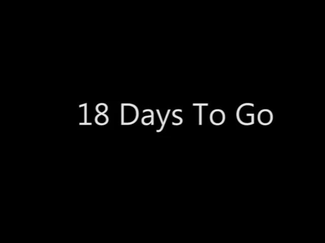 Image result for 18 days to go