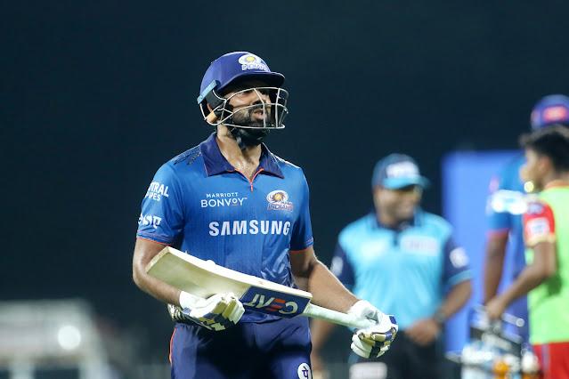 IPL 2021: रोहित शर्मा की बड़ी गलती मुंबई के लिए पड़ी भारी, पंजाब के खिलाफ मिली 9 विकेट से हार