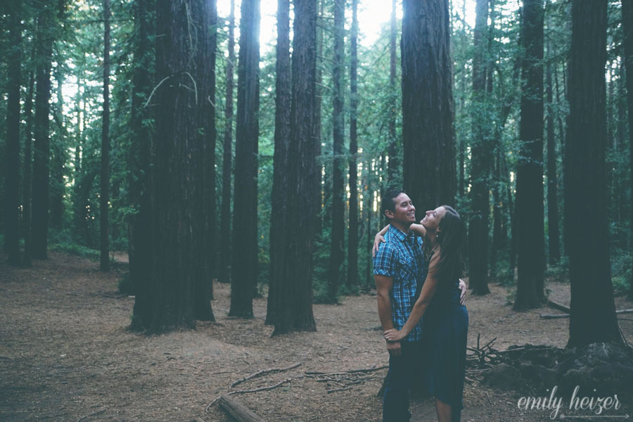 Emily Heizer Photography Lake Tahoe Sacramento San Francisco Wedding Photographer Oakland Joaquin Miller Park Engagement