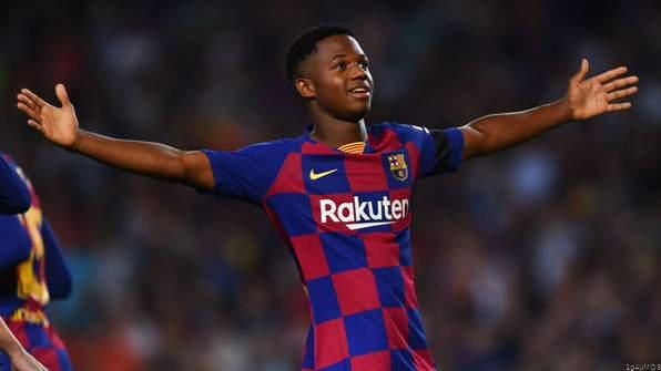 Highlight: Fati Scores Again as Barca Blaze Past Valencia